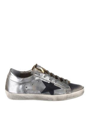Golden Goose: trainers - Laminated leather Superstar
