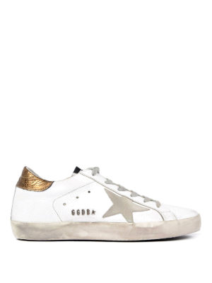 Golden Goose: trainers - Leather low top sneakers