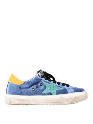 Golden Goose: trainers - May cotton low top sneakers