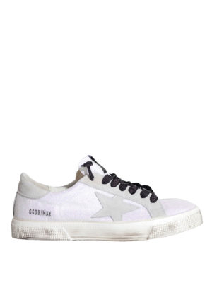 Golden Goose: trainers - May glitter sneakers