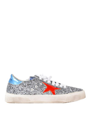 Golden Goose: trainers - May glittered sneakers