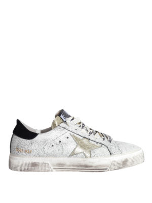 Golden Goose: trainers - May leather sneakers