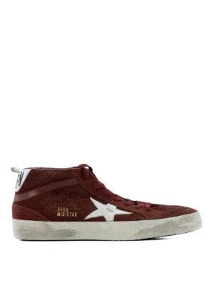 Golden Goose: trainers - Mid Star hi-top suede sneakers