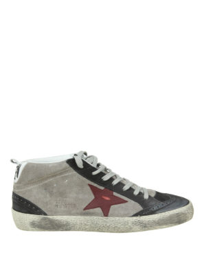 Golden Goose: trainers - Mid Star suede sneakers