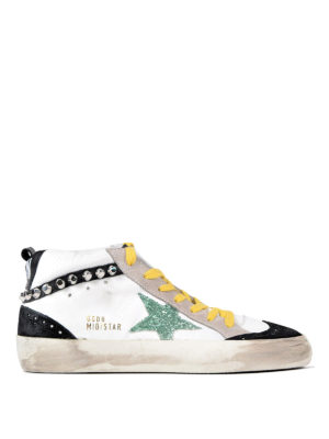 Golden Goose: trainers - Multicolour Mid Star sneakers