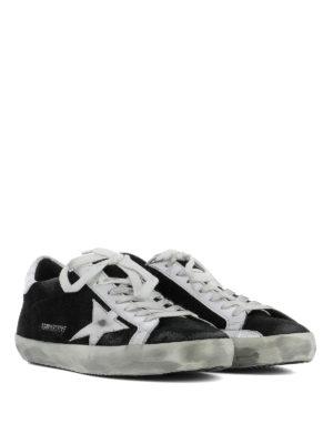 Golden Goose: trainers online - Archive black suede sneakers