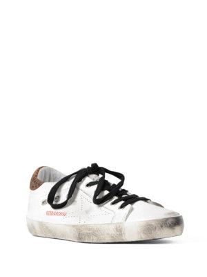 Golden Goose: trainers online - Archive leo detail sneakers