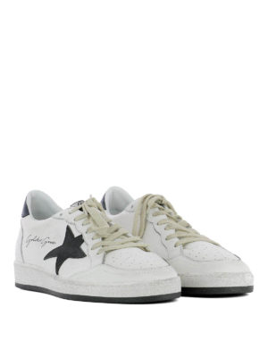 Golden Goose: trainers online - Ball Star black detail sneakers