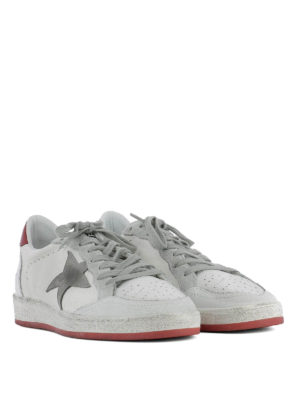 Golden Goose: trainers online - Ball Star red detail sneakers