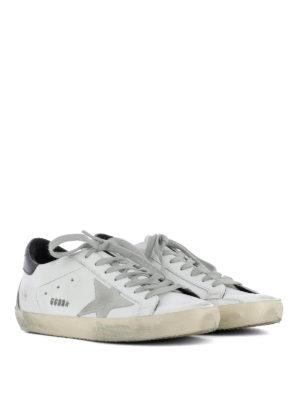 Golden Goose: trainers online - Black insert Superstar sneakers