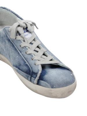 Golden Goose: trainers online - Denim-leather Super Star sneakers