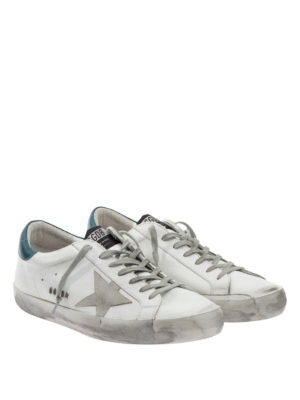 Golden Goose: trainers online - Distressed leather sneakers