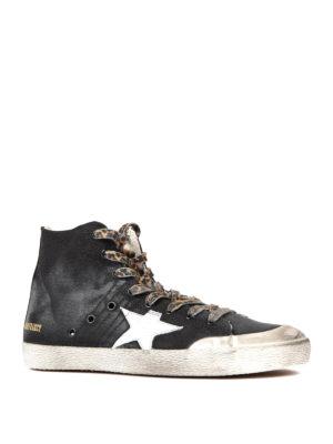 Golden Goose: trainers online - Francy high top canvas sneakers