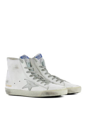 Golden Goose: trainers online - Francy high-top leather sneakers