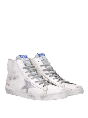 Golden Goose: trainers online - Francy high top leather sneakers