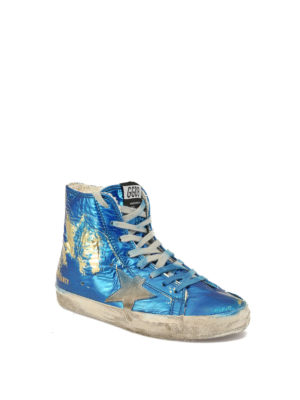Golden Goose: trainers online - Francy laminated fabric sneakers