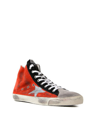 Golden Goose: trainers online - Francy suede sneakers