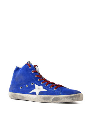 Golden Goose: trainers online - Francy white detailed sneakers