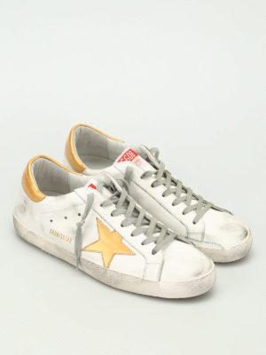 Golden Goose: trainers online - Gold star Superstar sneakers