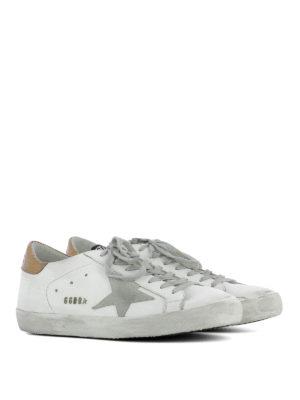 Golden Goose: trainers online - Golden insert Superstar sneakers