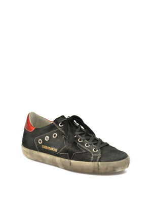 Golden Goose: trainers online - Hommage canvas sneakers