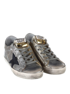 Golden Goose: trainers online - Laminated leather Superstar