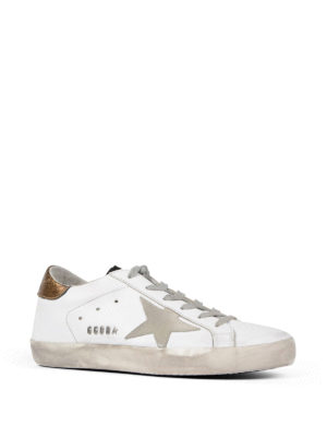 Golden Goose: trainers online - Leather low top sneakers
