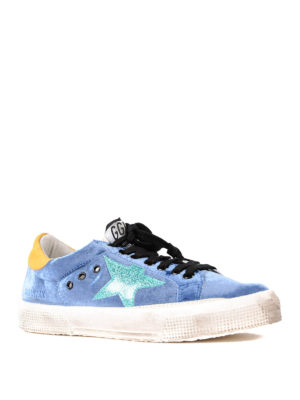 Golden Goose: trainers online - May cotton low top sneakers