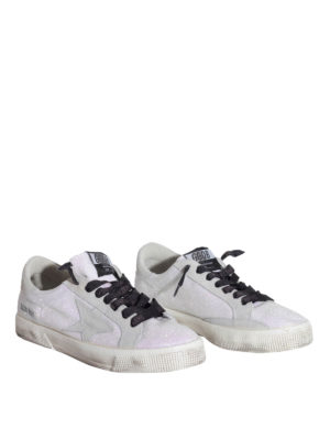 Golden Goose: trainers online - May glitter sneakers