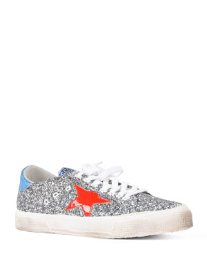 Golden Goose: trainers online - May glittered sneakers