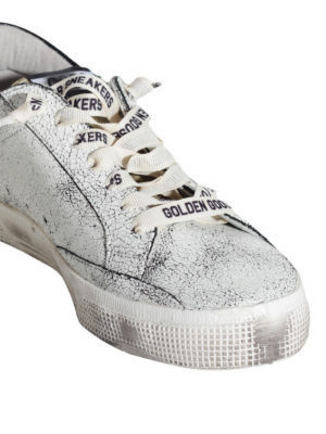 Golden Goose: trainers online - May leather sneakers