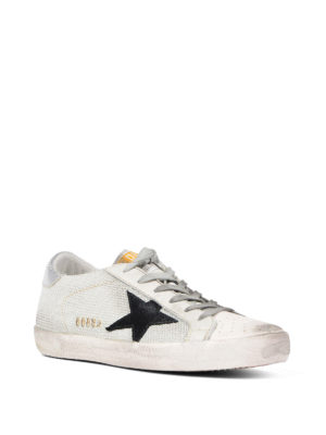 Golden Goose: trainers online - Mesh and leather low top sneakers