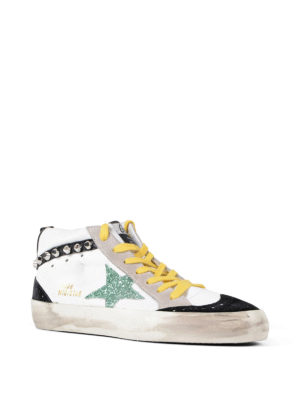 Golden Goose: trainers online - Multicolour Mid Star sneakers