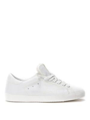 Golden Goose: trainers online - Neon Super Star  leather sneakers