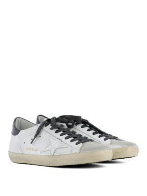 Golden Goose: trainers online - Patent insert Superstar sneakers