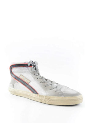 Golden Goose: trainers online - Scuffed leather trainers
