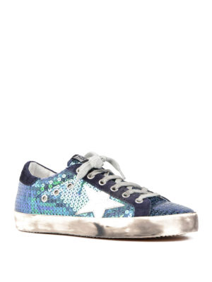 Golden Goose: trainers online - Sequined Superstar sneakers
