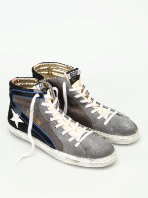 Golden Goose: trainers online - Slide mid top sneakers