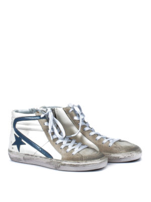 Golden Goose: trainers online - Slide used effect high-top sneakers