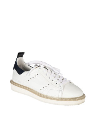 Golden Goose: trainers online - Starter blue detail sneakers