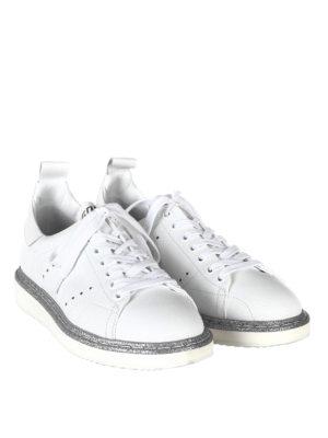 Golden Goose: trainers online - Starter glitter trimmed sneakers