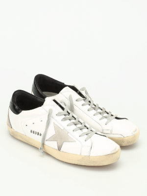 Golden Goose: trainers online - Super Star leather sneakers