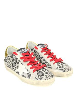 Golden Goose: trainers online - Superstar animal print sneakers