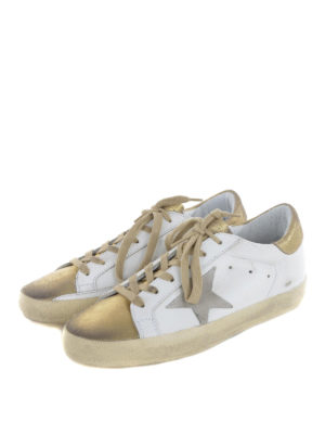 Golden Goose: trainers online - Superstar bicolour leather sneakers