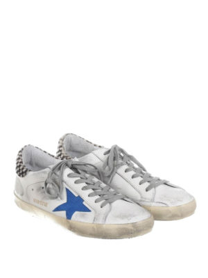 Golden Goose: trainers online - Superstar calf hair back sneakers