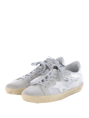 Golden Goose: trainers online - Superstar crackle leather sneakers