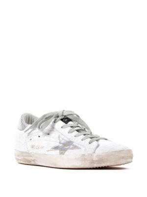 Golden Goose: trainers online - Superstar croco print sneakers