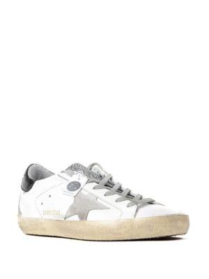 Golden Goose: trainers online - Superstar crystal glitter sneakers