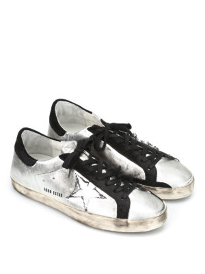 Golden Goose: trainers online - Superstar dirty effect sneakers