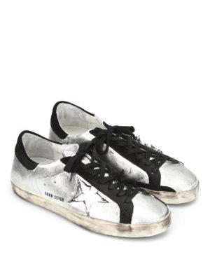 Golden Goose: trainers online - Superstar dirty effect sneakers